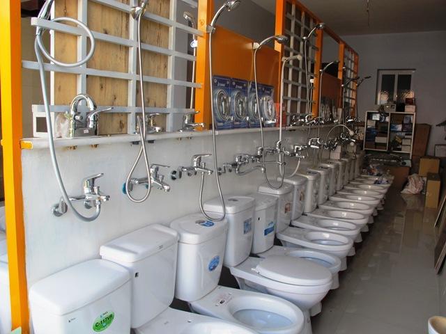 Showroom thiết bị vệ sinh tuyệt đẹp