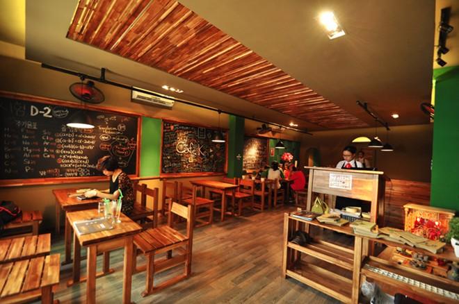 """Thiết kế quán cafe """"chất lừ"""" theo phong cách Hàn Quốc"""