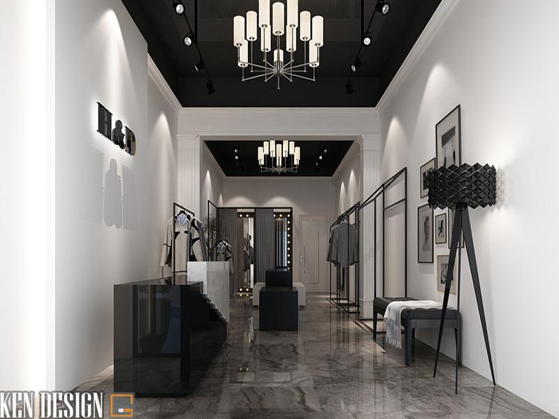 Thiết kế nội thất Shop H & D
