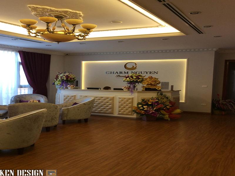 Thiết kế nội thất Spa CHARM NGUYEN