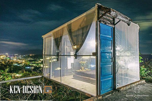Thiết kế homestay độc đáo ở Đà Lạt