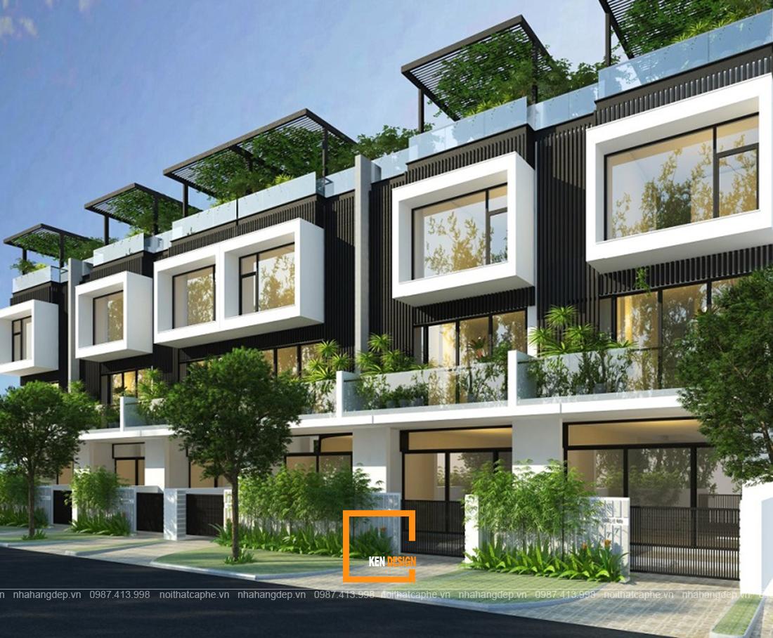 Bật mí bí quyết thu hút mọi ánh nhìn của thiết kế nhà liền kề phong cách tân cổ điển
