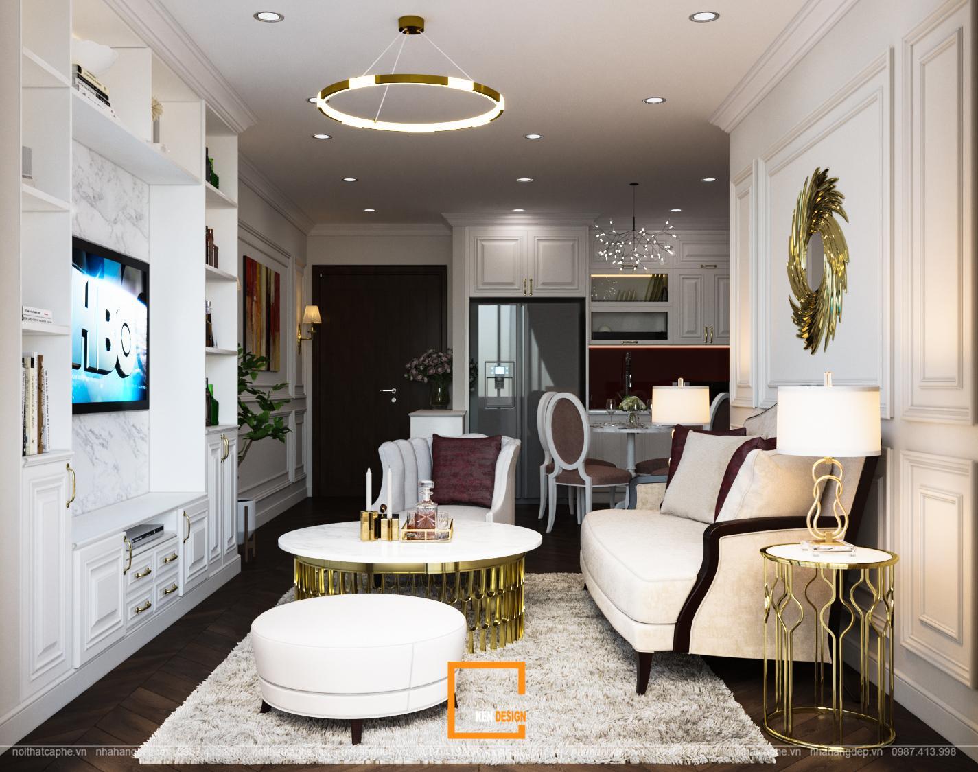 Thiết kế căn hộ FLC Green Aparment – nơi giao thoa vẻ đẹp của thời đại