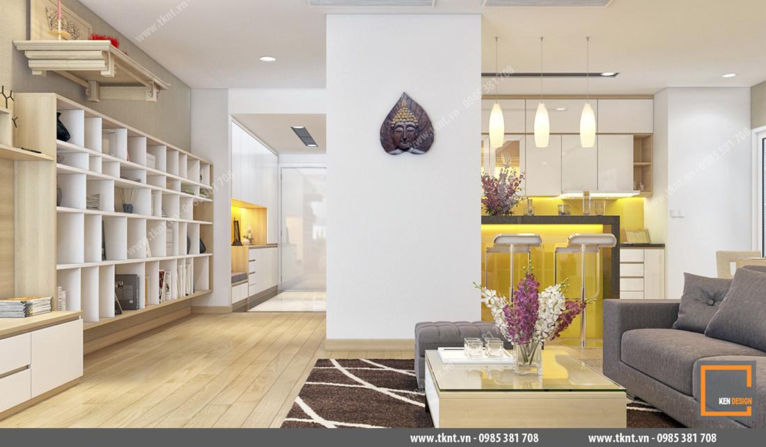 Thiết kế nội thất nhà phố hiện đại - xu hướng mới cho thập kỷ mới