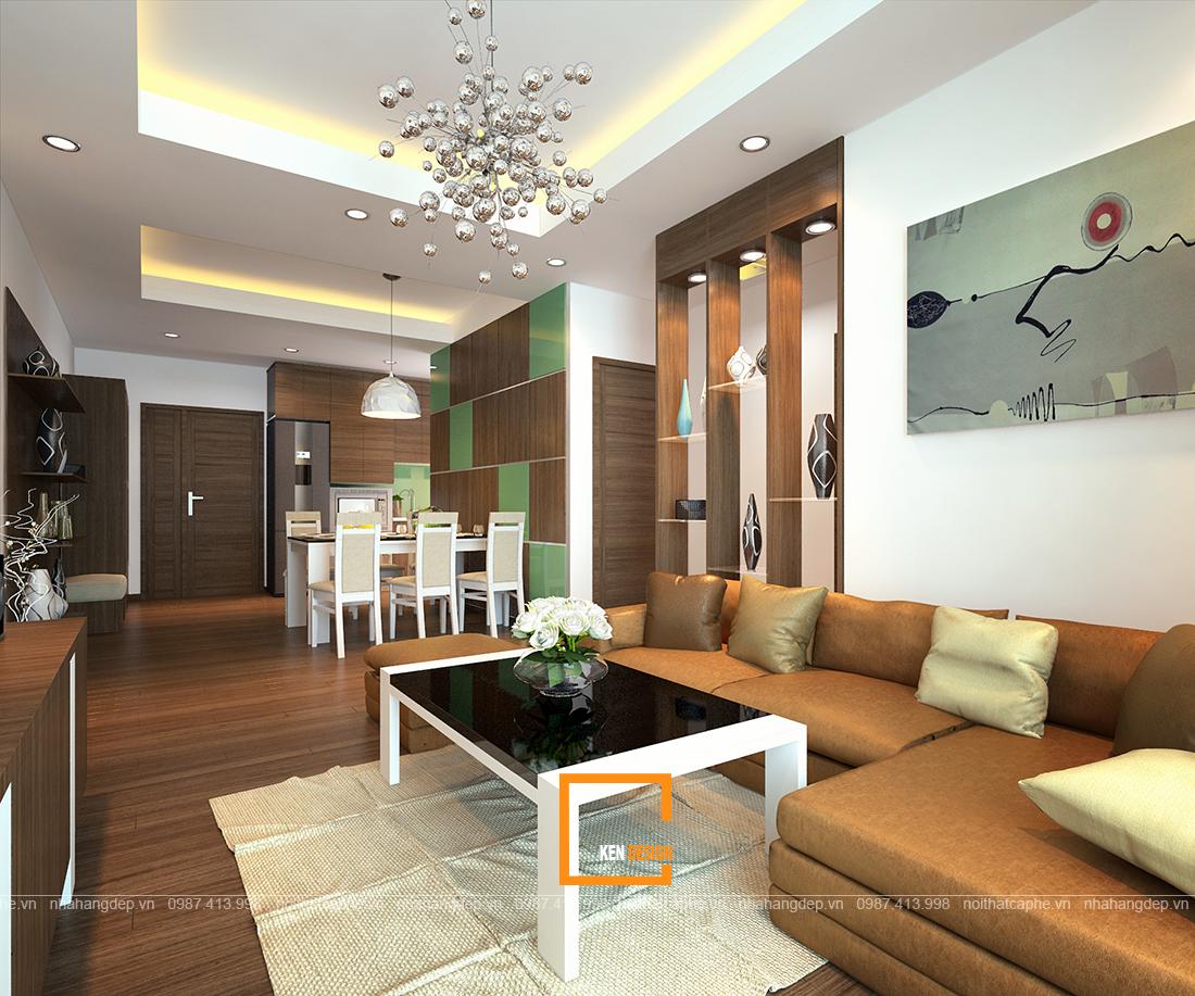 Các công đoạn thi công nội thất chung cư gồm những gì?