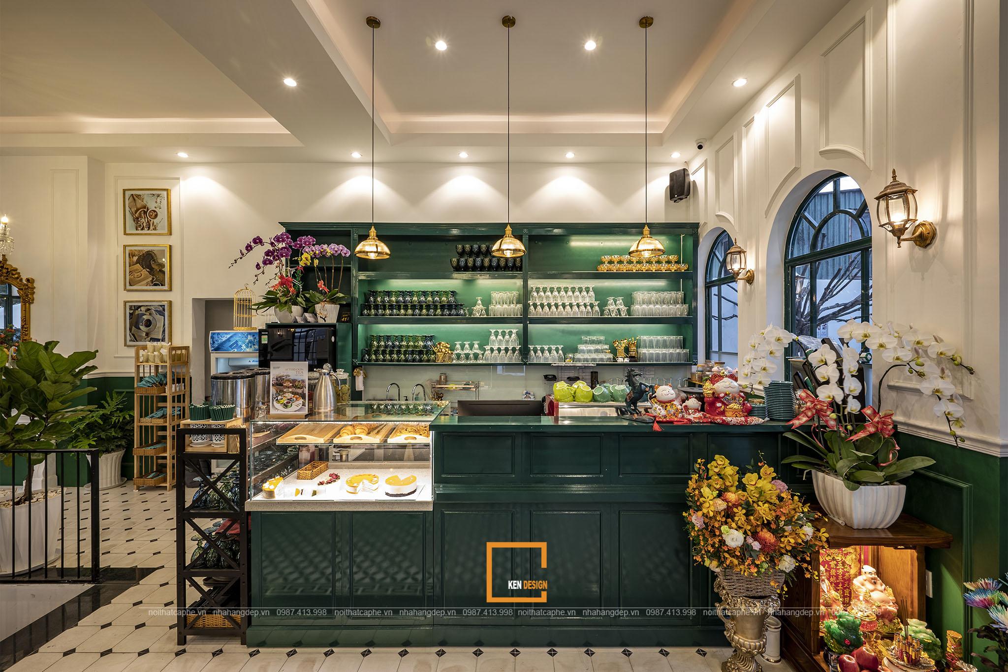 Những gợi ý khi trang trí nội thất quán cafe phong cách Châu Âu