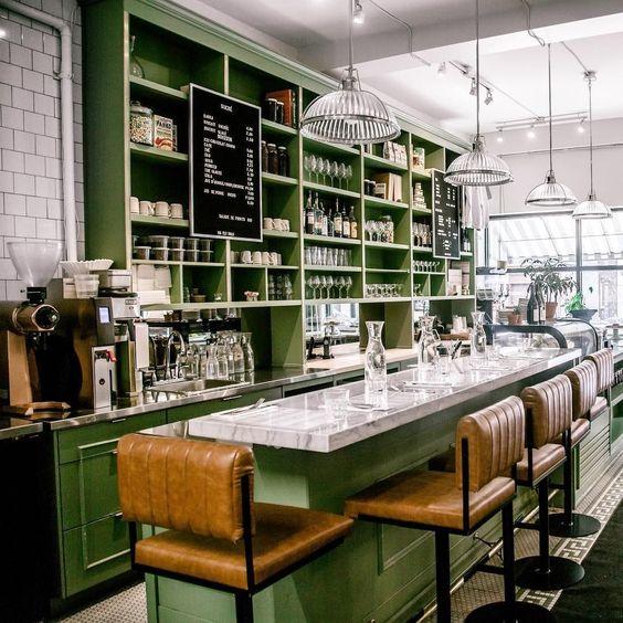 Mẹo thiết kế quán cafe phong cách retro vô cùng đơn giản