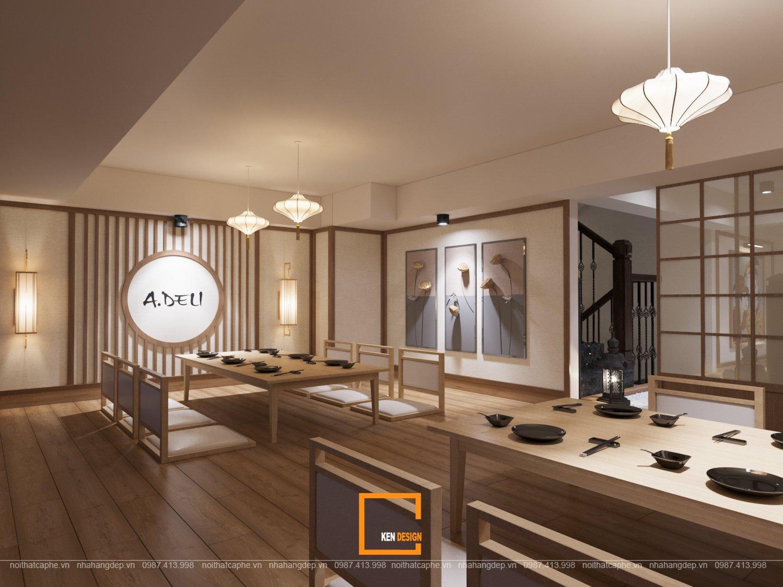 Sự kết hợp phong cách 5in1 trong thiết kế nhà hàng A.DELI