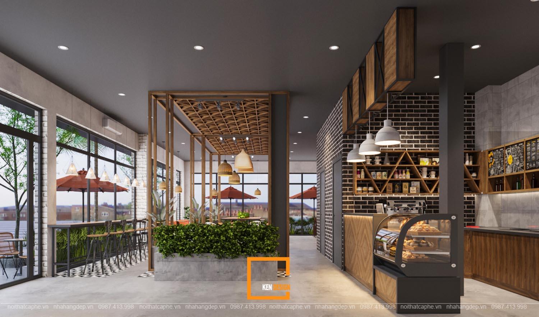 Lựa chọn phong cách thiết kế phù hợp cho quán cà phê 1 tầng