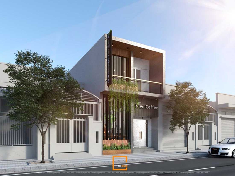 Quy tắc không thể bỏ qua để có thiết kế quán cafe 2 tầng đẹp