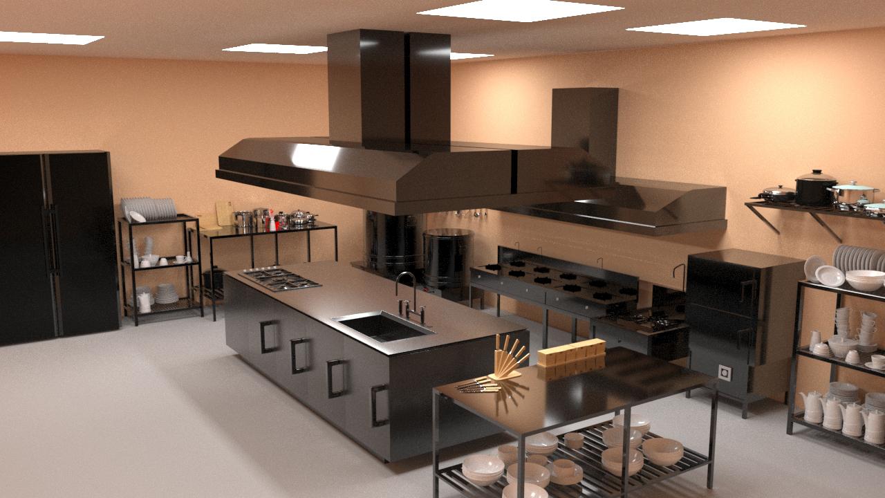 Yêu cầu cơ bản trong thiết kế bếp nhà hàng 3 tầng không phải ai cũng biết