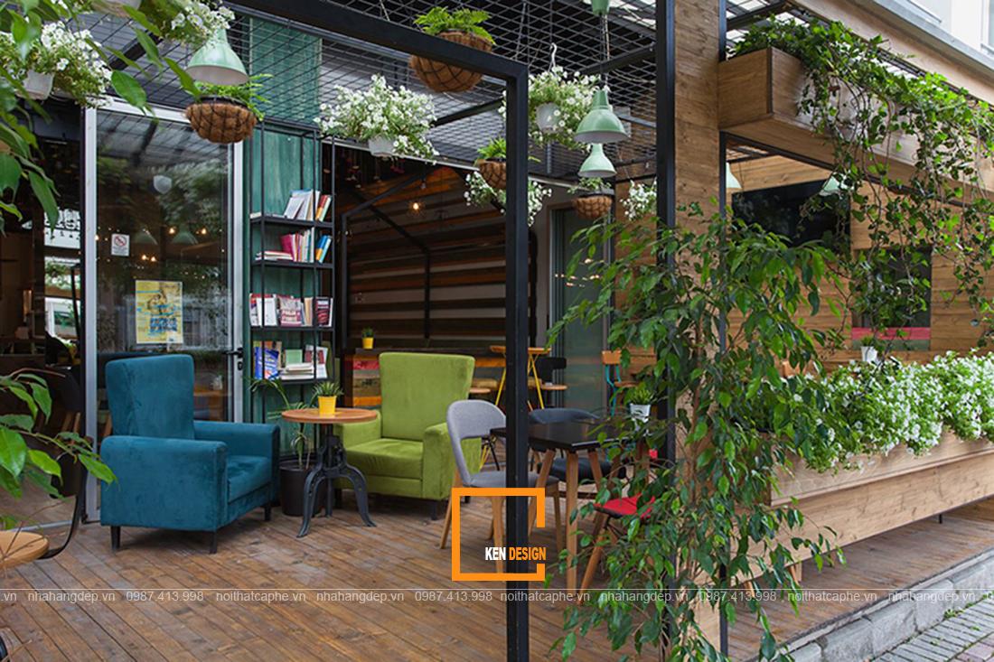 Thiết kế quán cafe 2 mặt tiền chẳng khó với những ý tưởng độc đáo sau đây
