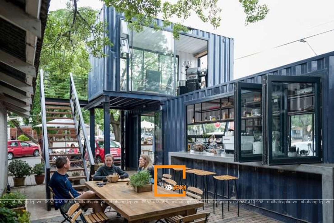 Top 3 ý tưởng thiết kế kiến trúc quán café hai mặt tiền mà bạn không nên bỏ lỡ