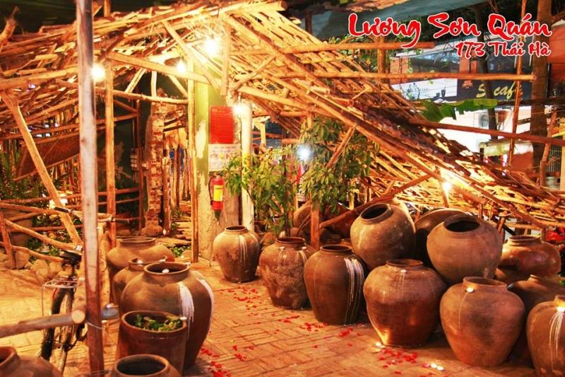 Lạc vào miền sơn cước với thiết kế nhà hàng Lương Sơn Quán