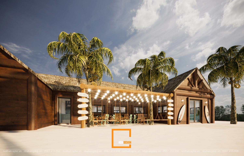 Cần chuẩn bị những chi phí gì khi thiết kế quán cafe ven biển?